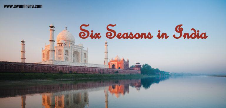what are the six seasons in india